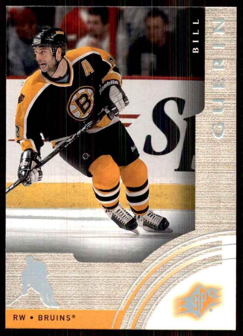2001-02 SPx Bill Guerin #5 card front image