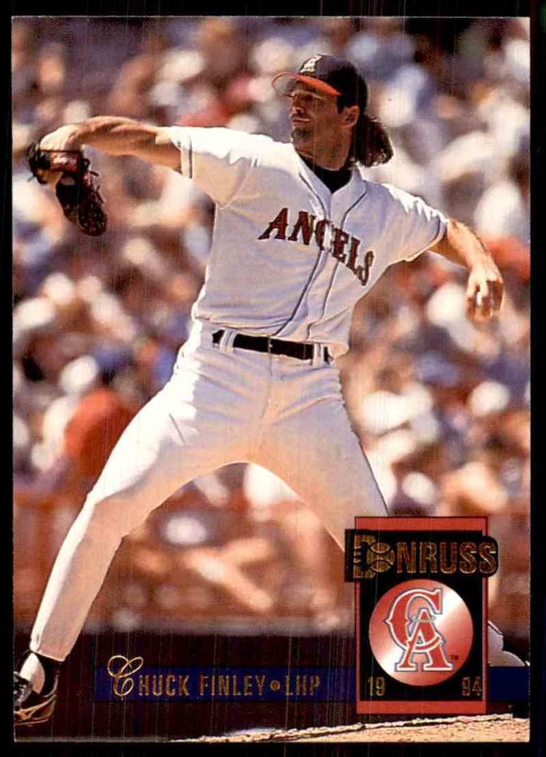 1994 Donruss Chuck Finley #363 card front image