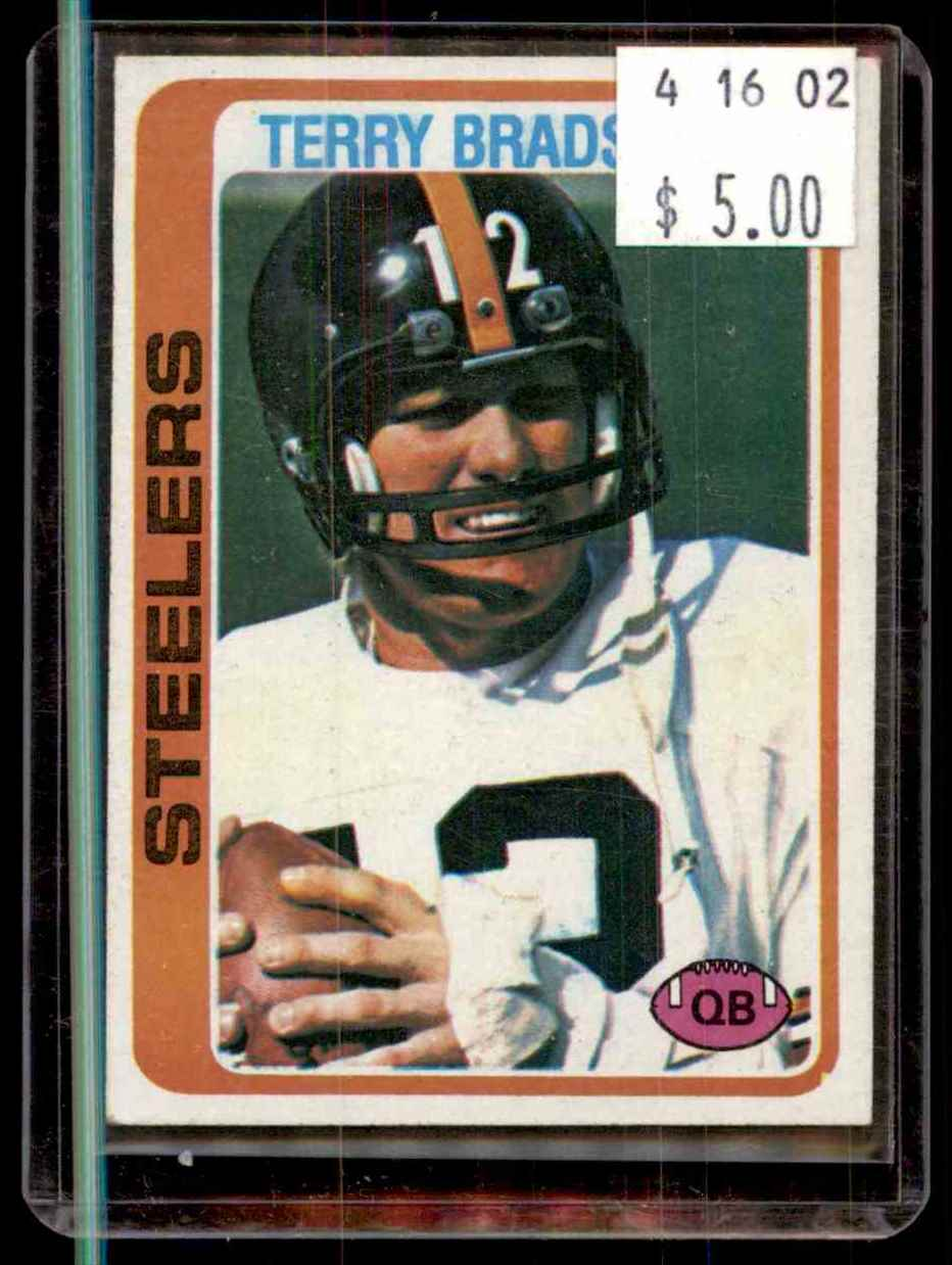1978 Topps Terry Bradshaw #65 card front image