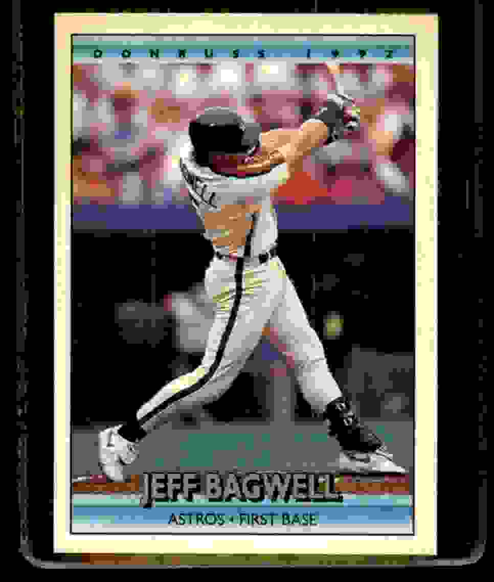 1992 Donruss Jeff Bagwell #358 card front image