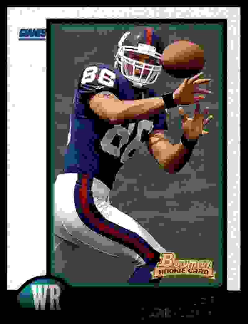 1998 Bowman Joe Jurevicius #23 card front image