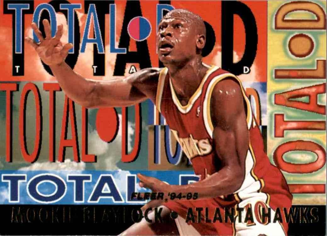 1994-95 Fleer Total D Mookie Blaylock #1 card front image