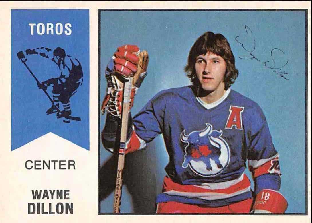 1974-75 O-Pee-Chee Wha Wayne Dillon #3 card front image