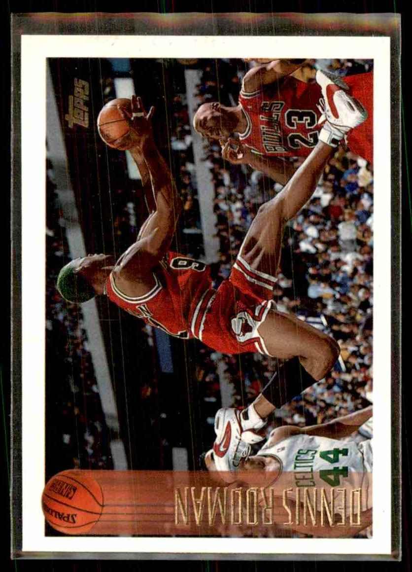 1996-97 Topps Dennis Rodman #176 card front image