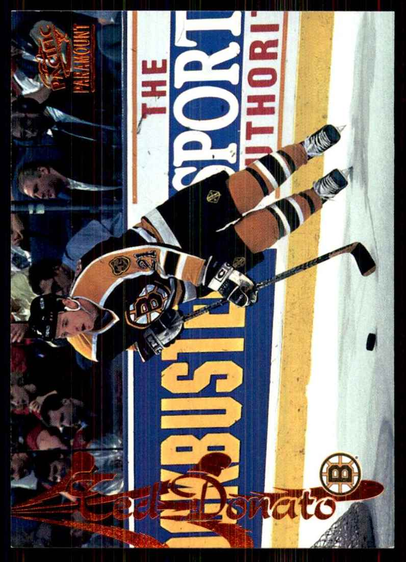 1997-98 Paramount Copper Ted Donato #12 card front image