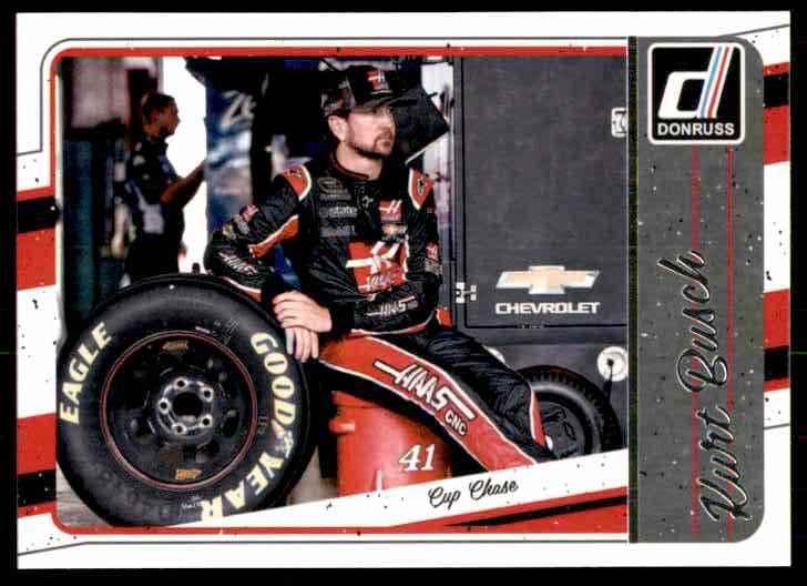2017 Donruss Kurt Busch #128 card front image