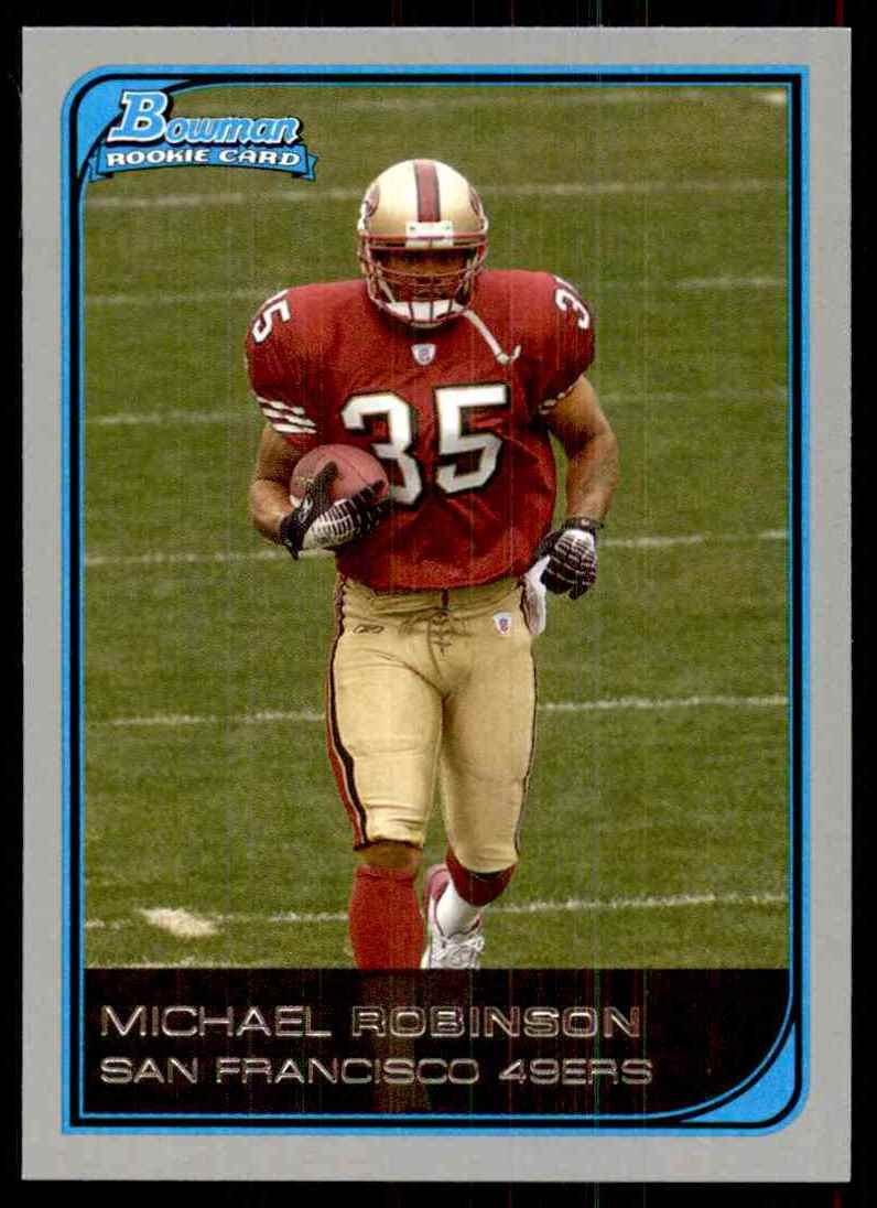 2006 Bowman Michael Robinson RC #153 card front image