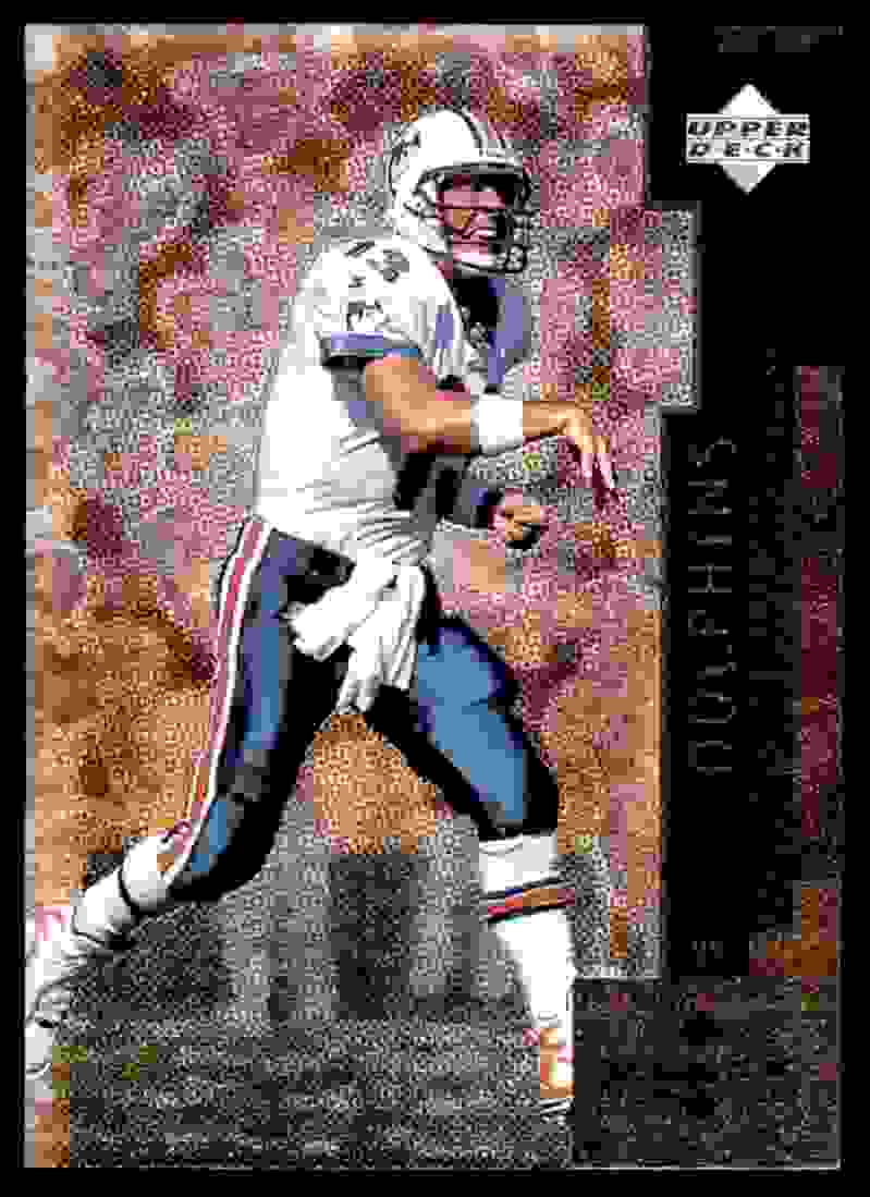 1998 Upper Deck Black Diamond Dan Marino #12 card front image