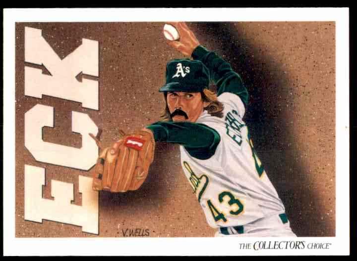 1993 Upper Deck Dennis Eckersley #814 card front image
