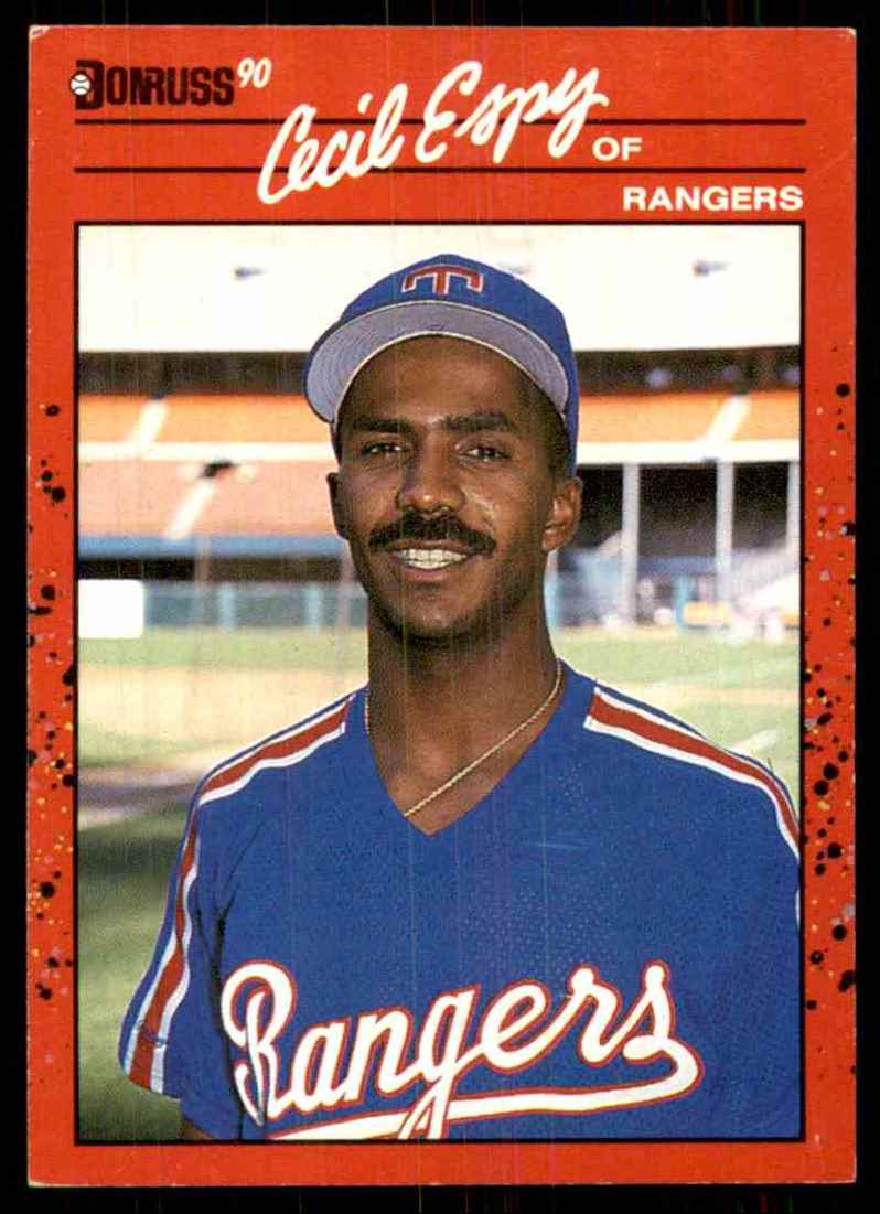 1990 Donruss Cecil Espy #260 card front image