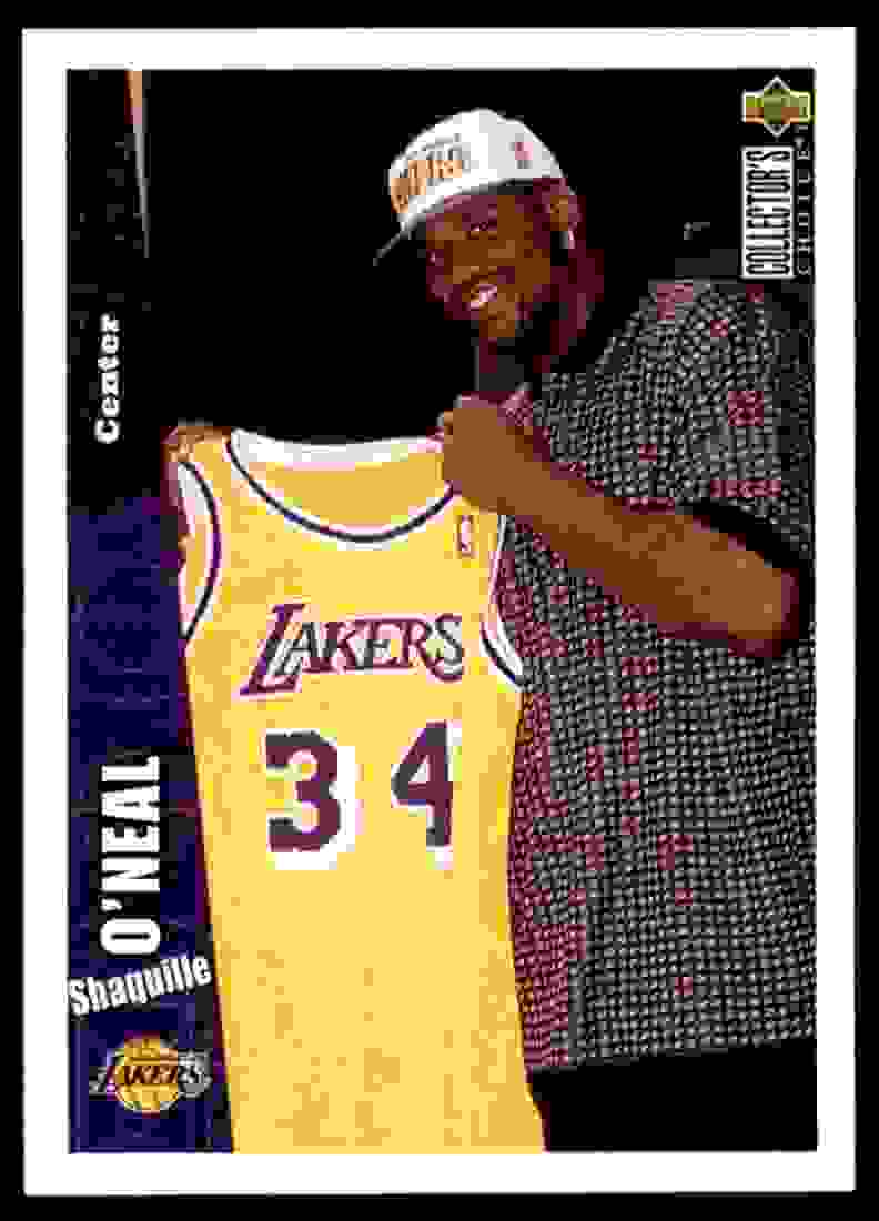 1996-97 Collector's Choice Shaquille O'Neal #270 card front image