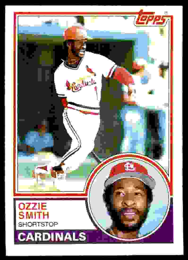 1983 Topps Ozzie Smith #540 card front image