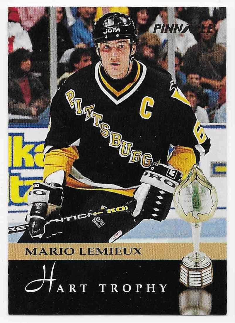 1993-94 Pinnacle Mario Lemieux #221 card front image