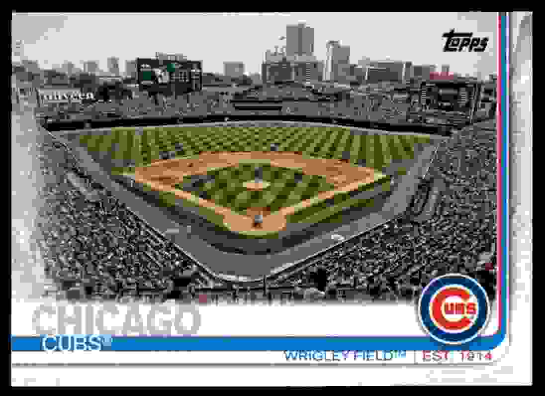 2019 Topps Wrigley Field #197 card front image