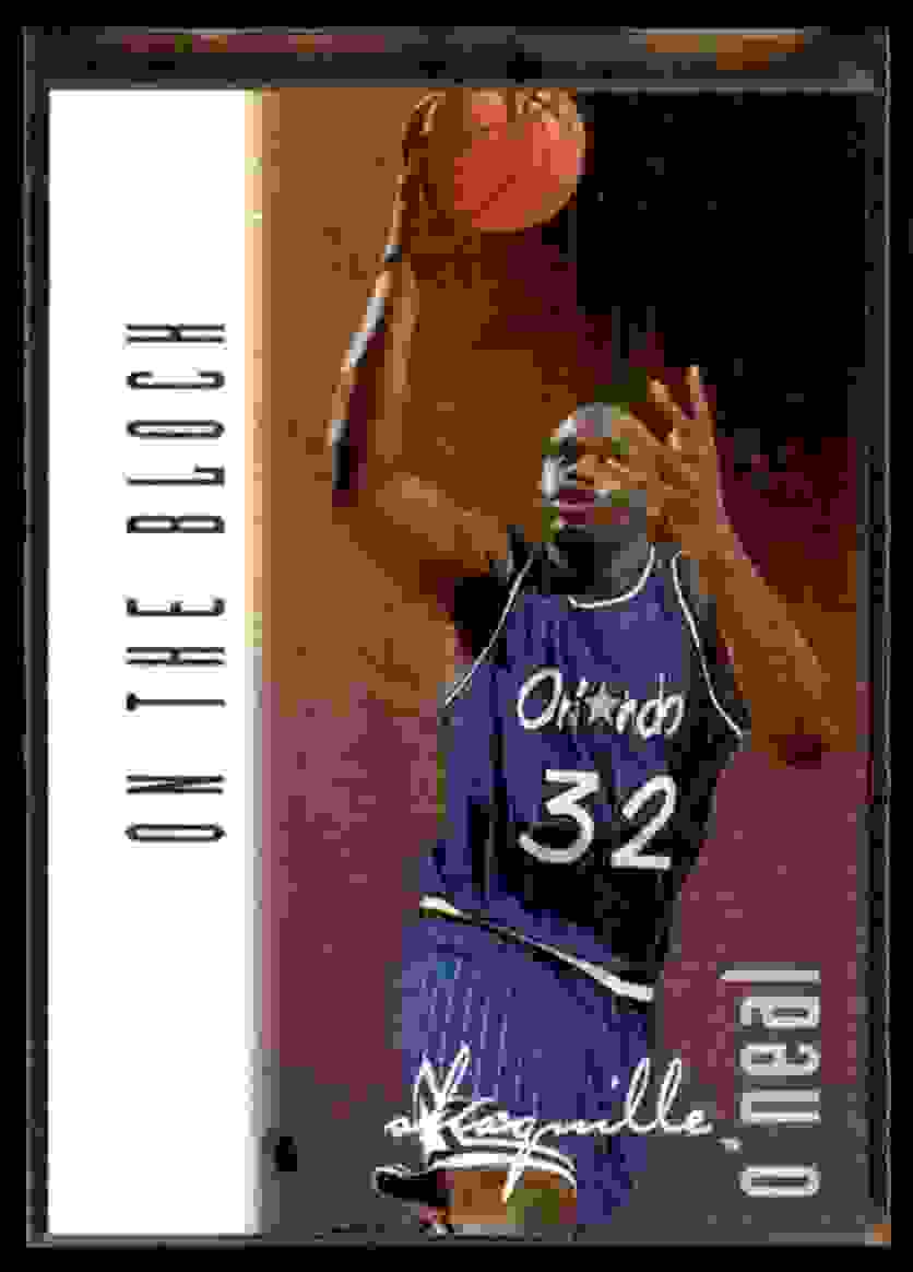 1996-97 Ultra Shaquille O'Neal Otb #135 card front image