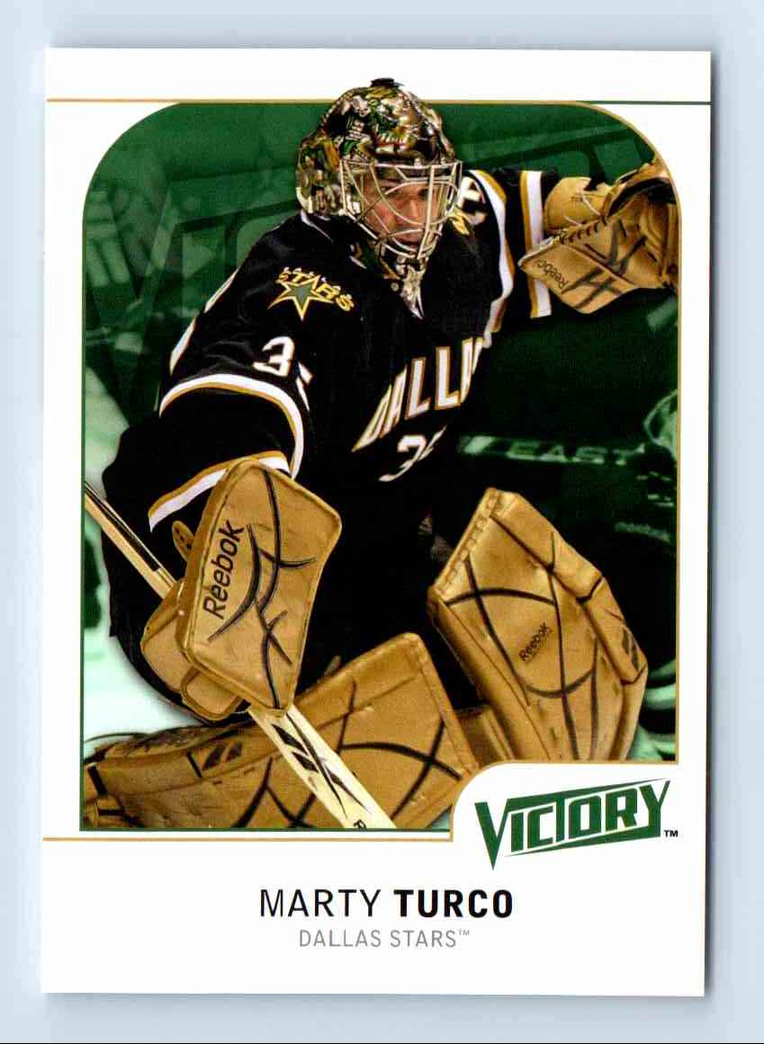 2009-10 Upper Deck Victory Marty Turco #61 card front image