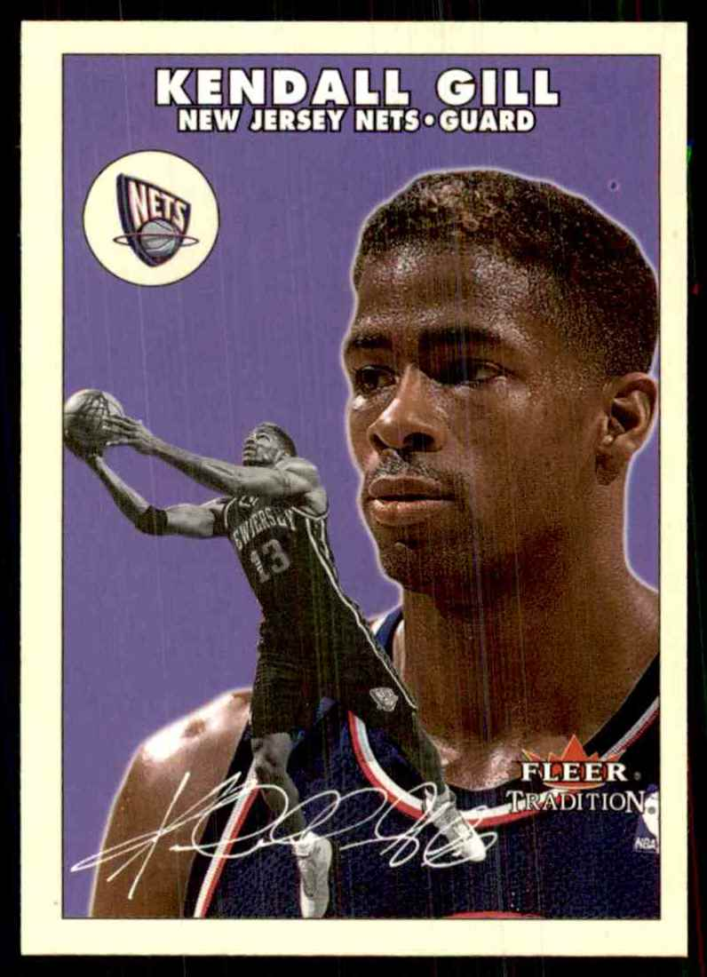 2000-01 Fleer Glossy Kendall Gill #168 card front image