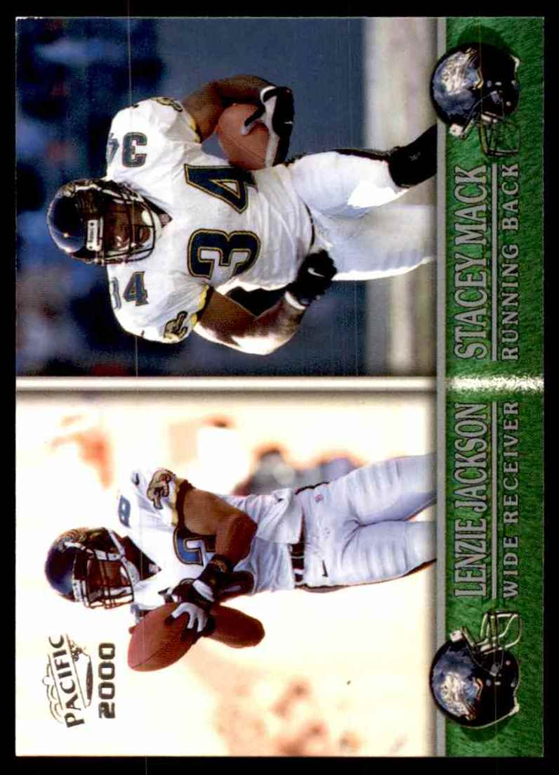 2000 Pacific Lenzie Jackson Stacey Mack #174 card front image