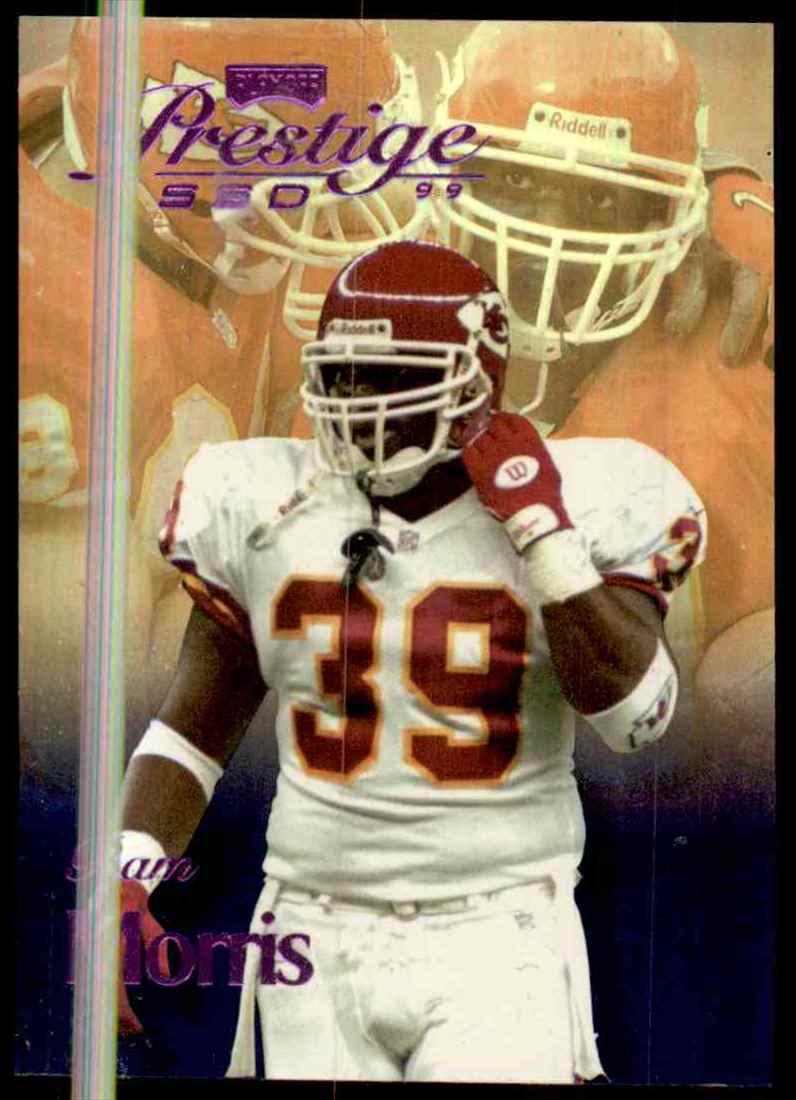 1999 Playoff Prestige Ssd Spectrum Purple Bam Morris #63 card front image