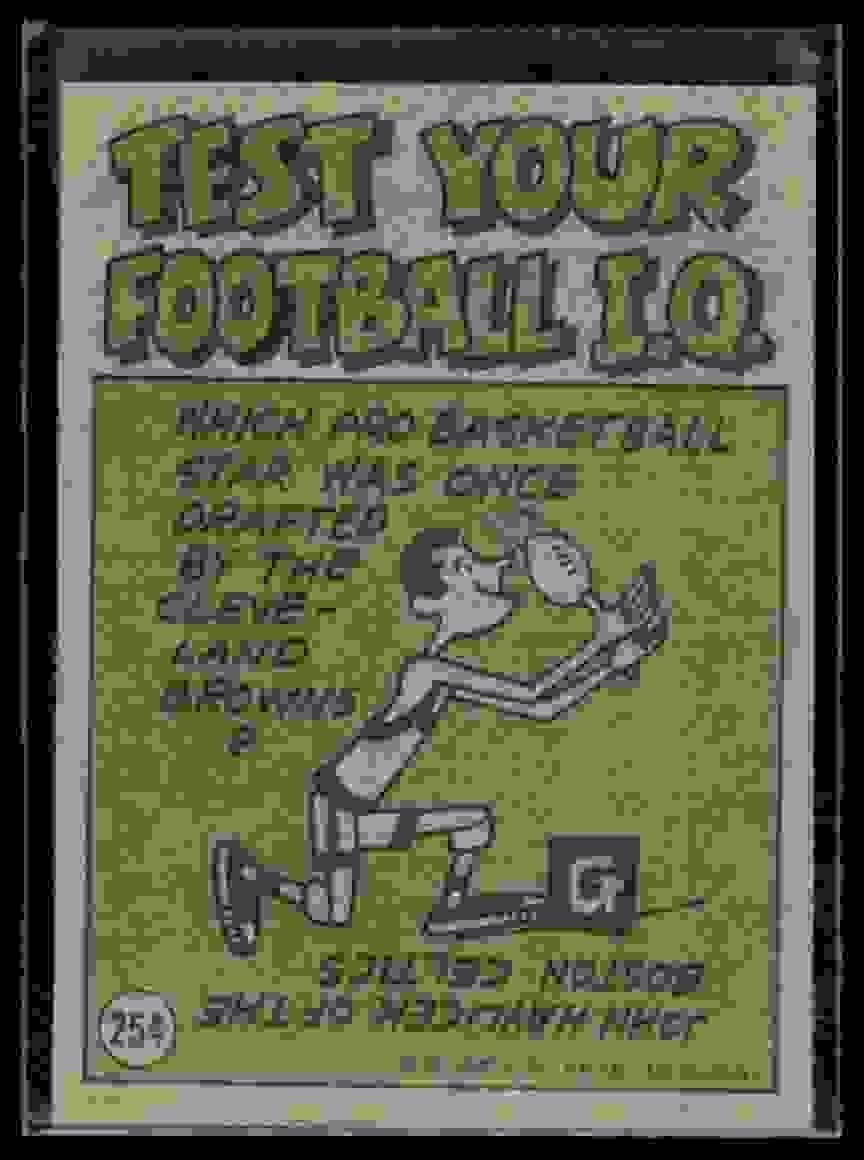 1972 Topps John Hadl #254 card back image