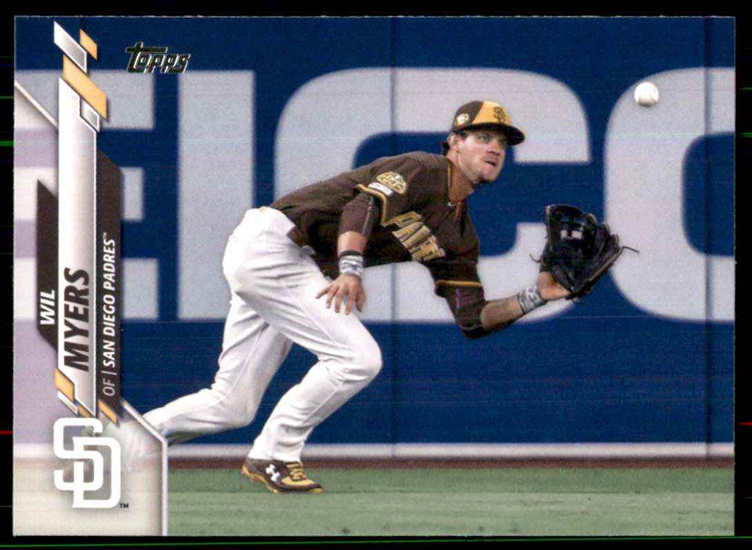 2020 Topps Wil Myers #544 card front image