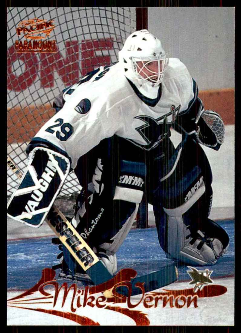 1997-98 Paramount Copper Mike Vernon #170 card front image