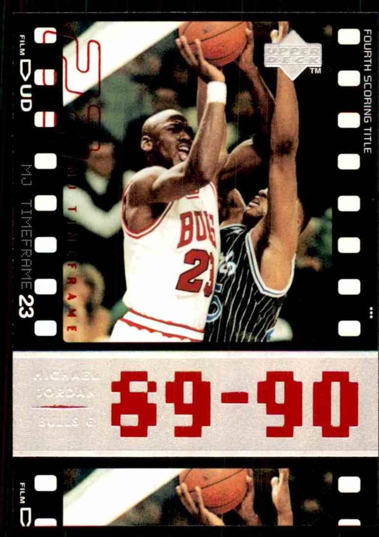 00132ec5f19c42 1998-99 Upper Deck Michael Jordan Living Legend Michael Jordan Tf 1991-92