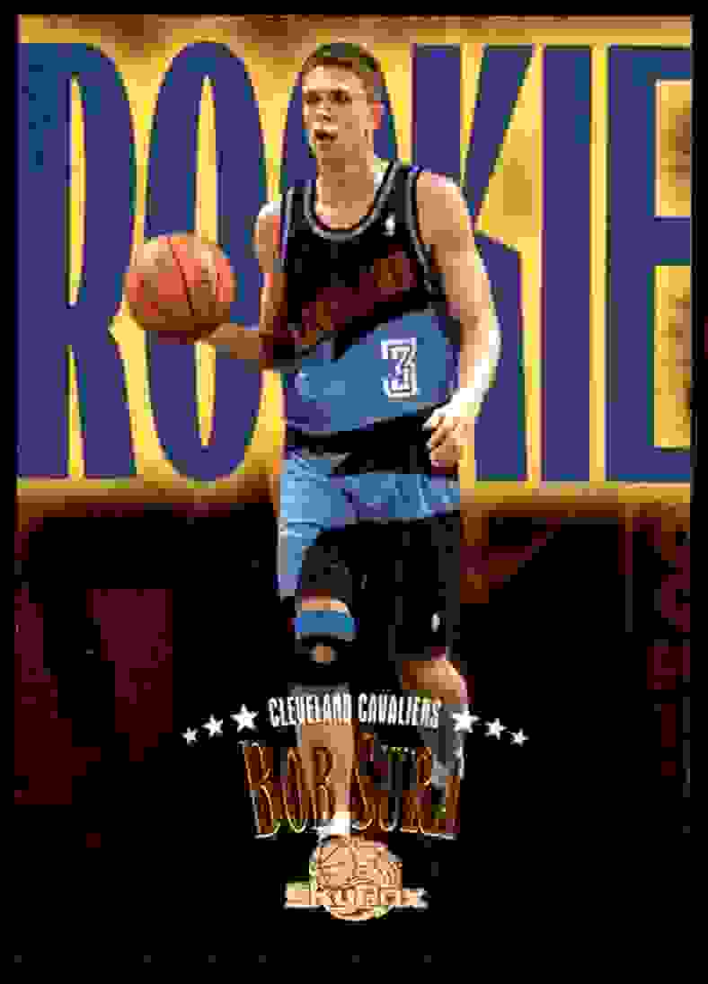 1995-96 Skybox Premium Bob Sura RC #223 card front image