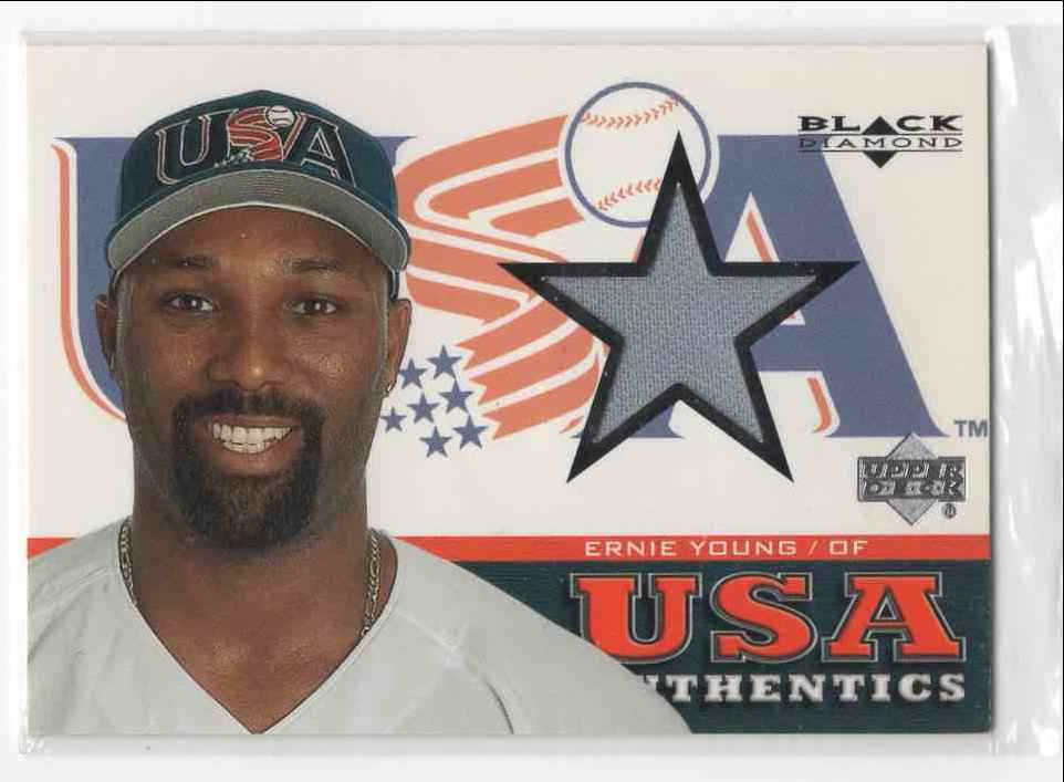 2000 Upper Deck USA Baseball Ernie Young #148 card front image