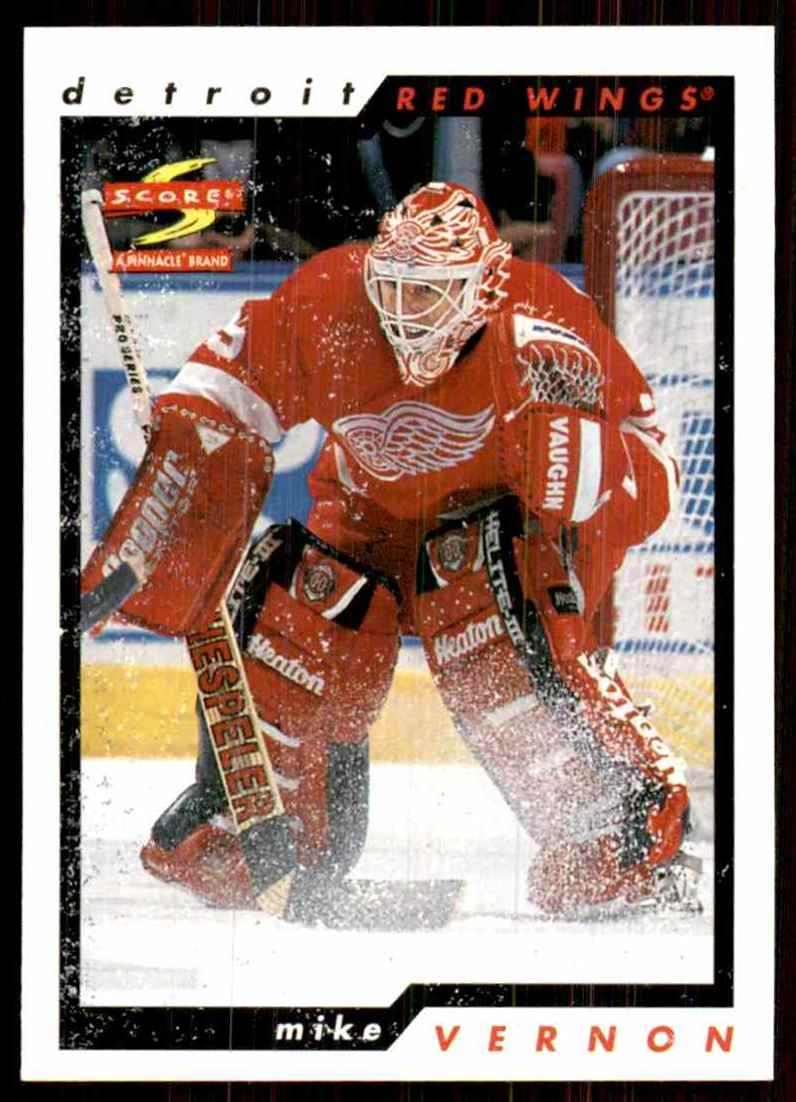 1996-97 Score Mike Vernon #164 card front image