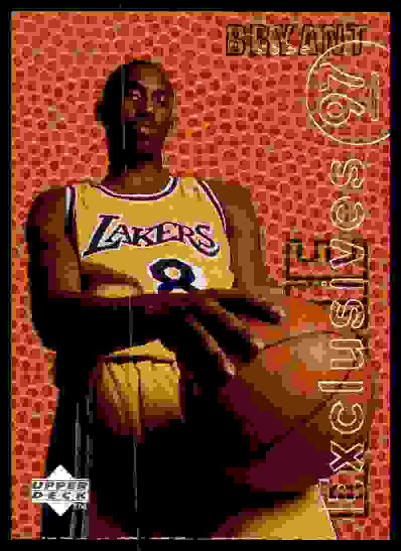 1996-97 Upper Deck Rookie Exclusives Kobe Bryant #R10 card front image