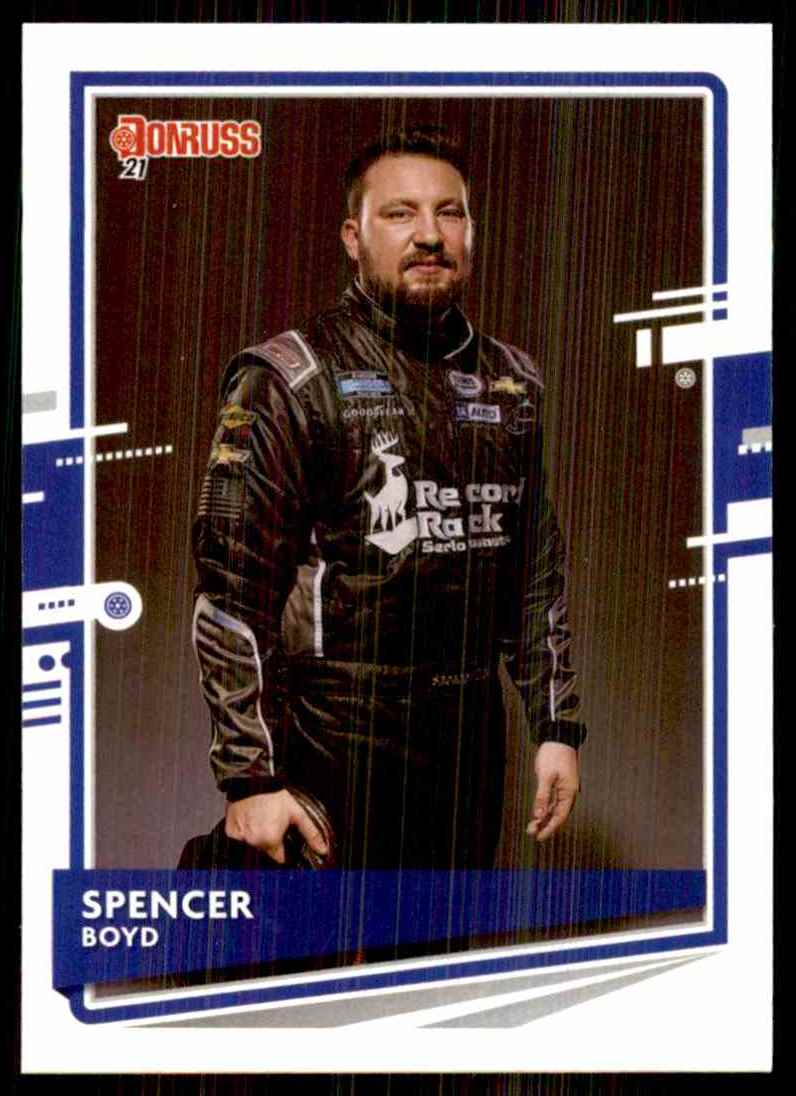 2021 Donruss Spencer Boyd #109 card front image