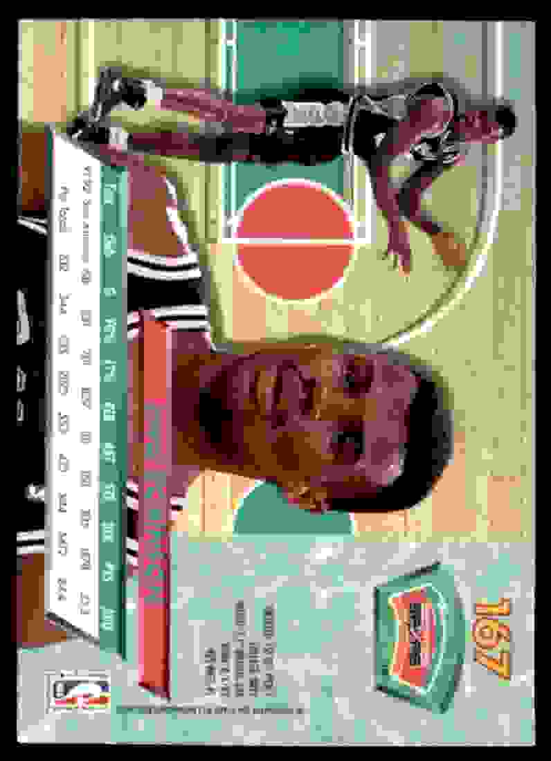1992-93 Ultra David Robinson #167 card back image