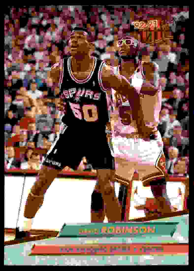 1992-93 Ultra David Robinson #167 card front image