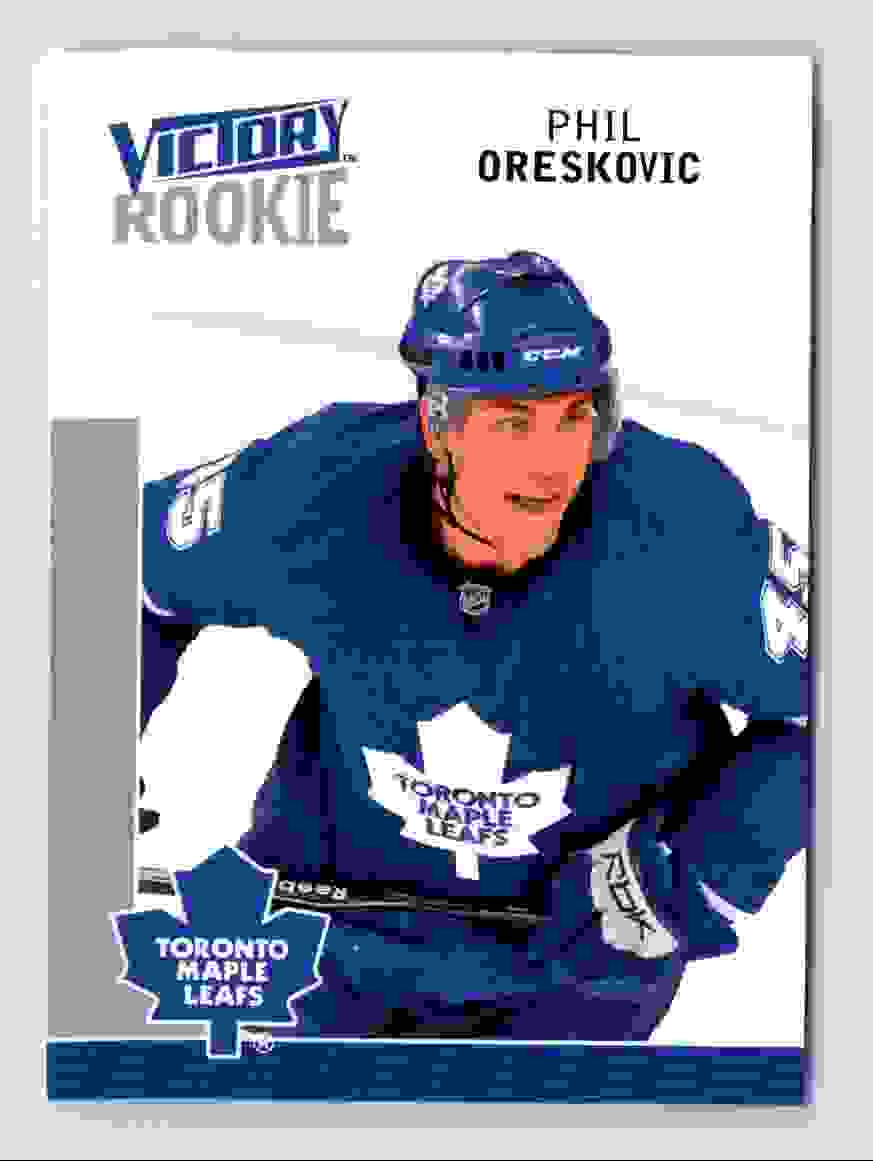 2009-10 Upper Deck Victory Rookie Phil Oreskovic #237 card front image