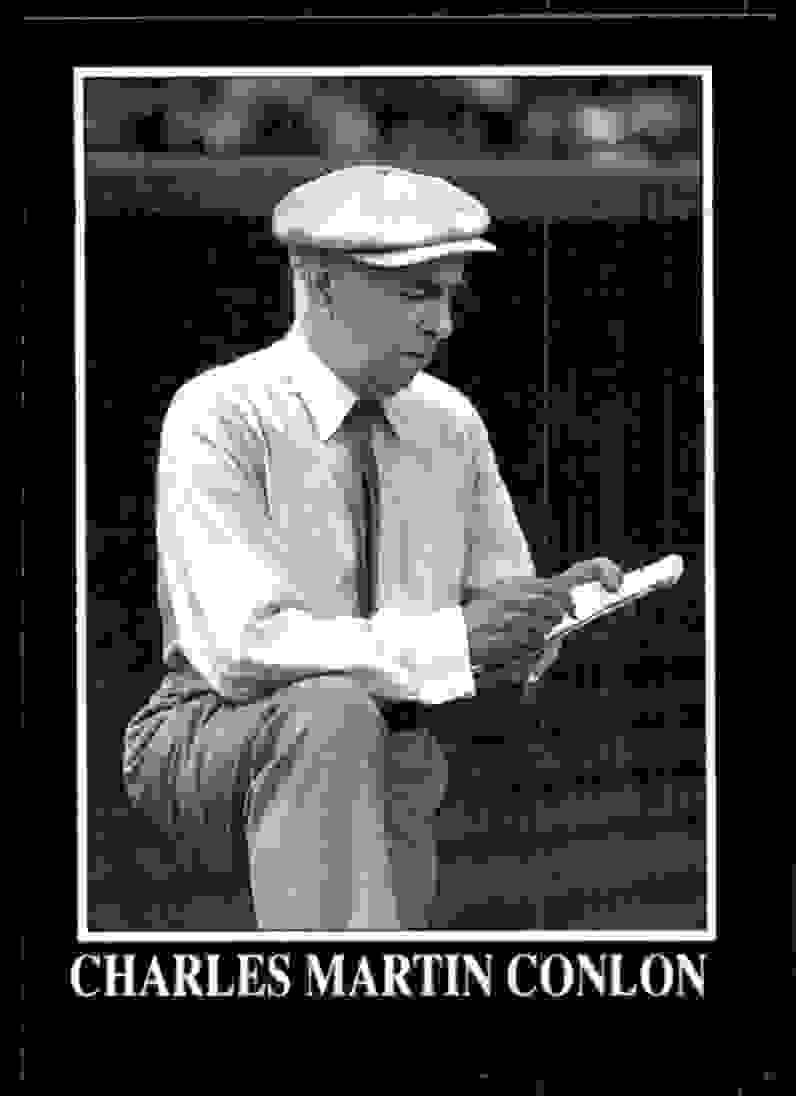 1991 Conlon Tsn Charles Conlon #327 card front image
