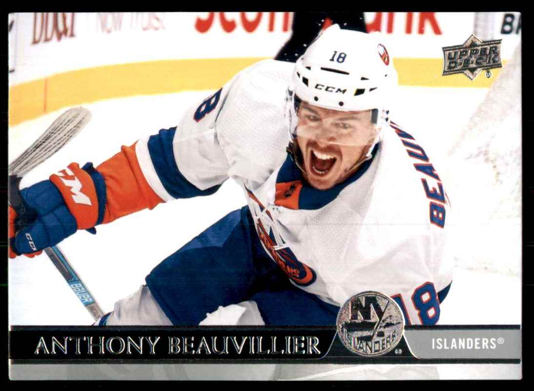 2020-21 Upper Deck Anthony Beauvillier #368 card front image