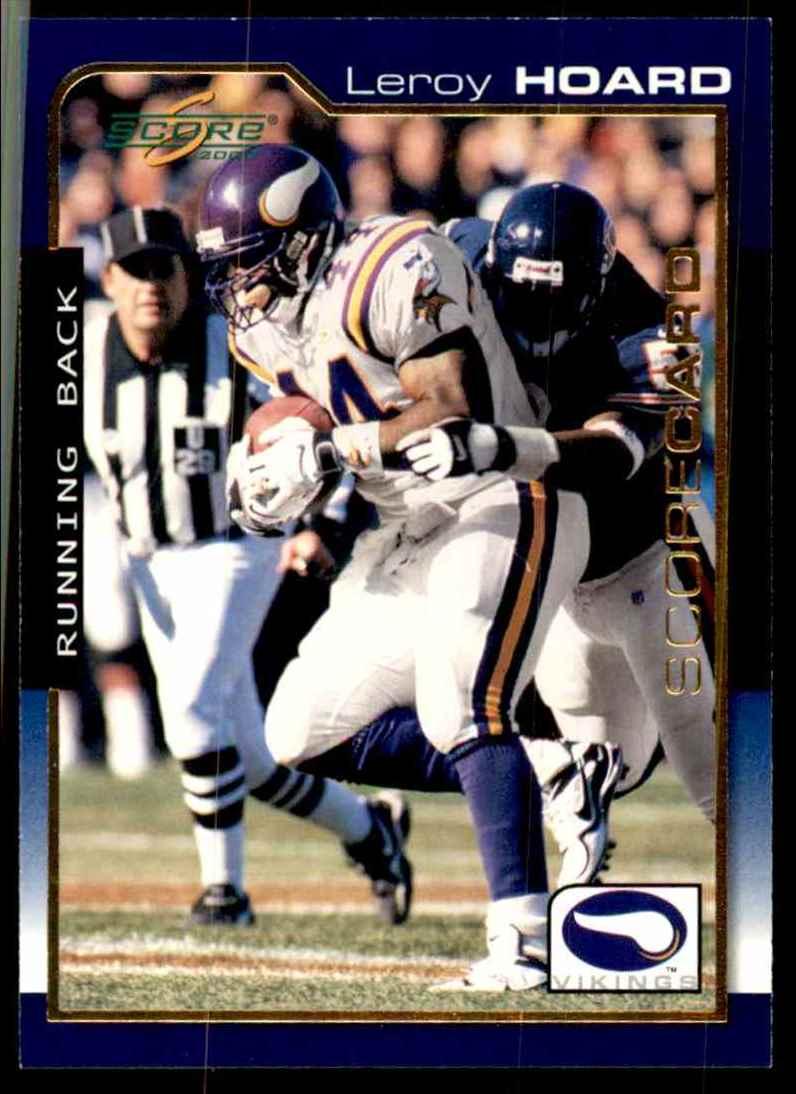 2000 Score Scorecard Leroy Hoard #108 card front image