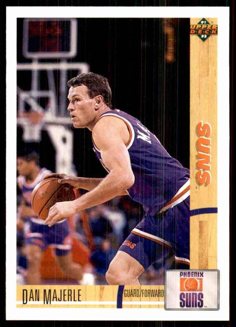 1991-92 Upper Deck Dan Majerle #172 card front image