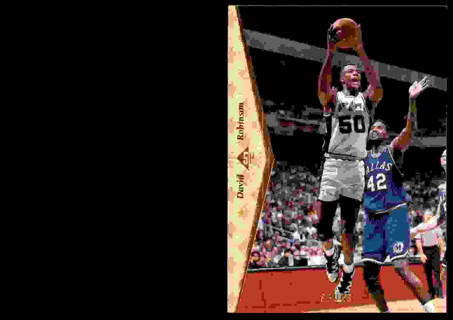 1994-95 SP David Robinson #146 card front image