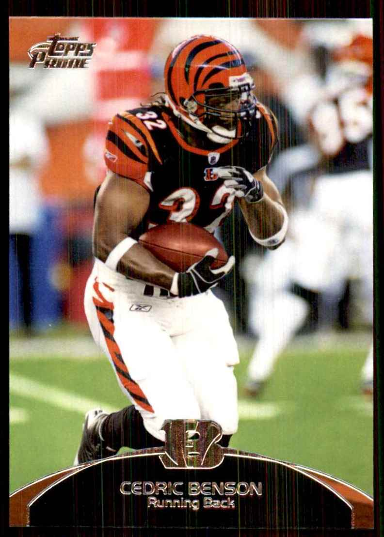 2011 Topps Prime Cedric Benson #39 card front image