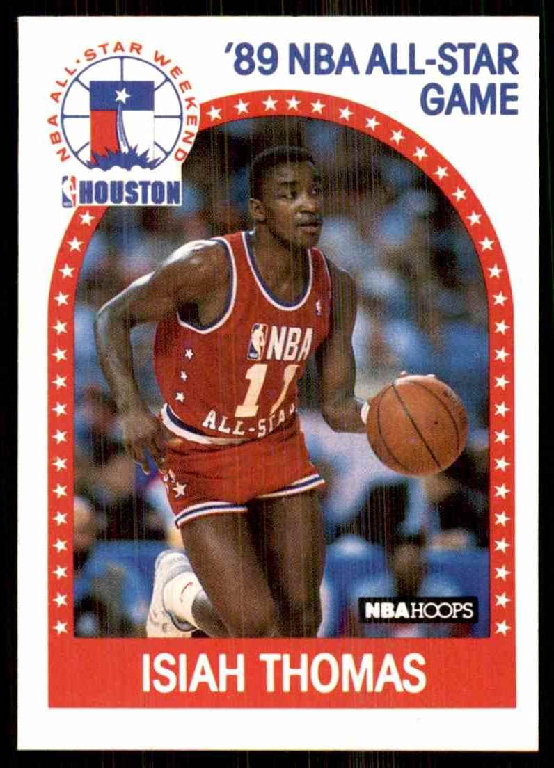 1989-90 Hoops Isiah Thomas #177 card front image