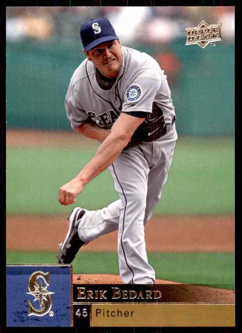 2009 Upper Deck Erik Bedard #331 card front image