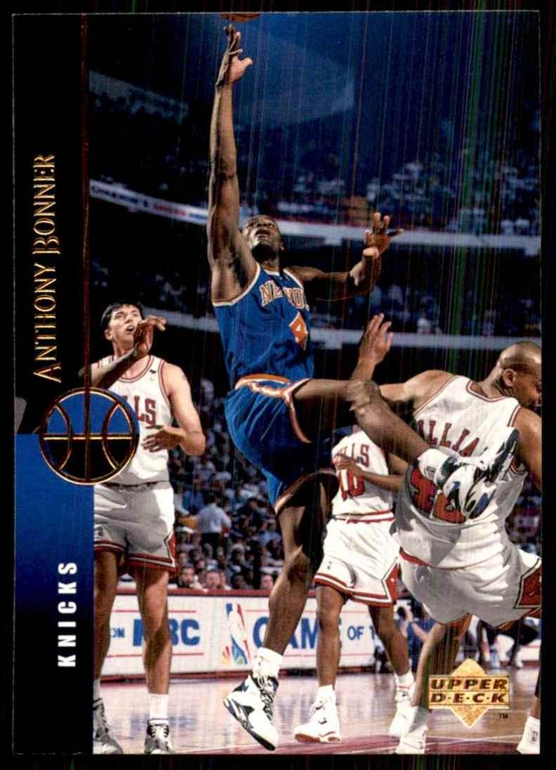 1994-95 Upper Deck Anthony Bonner #139 card front image